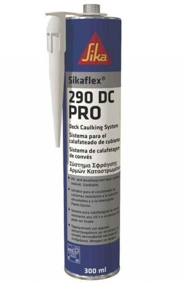 Sikaflex-290 DC атмосферостойкий герметик для заделки швов на палуба 300мл